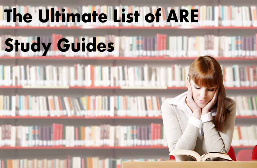 Ultimate list of ARE study Materials