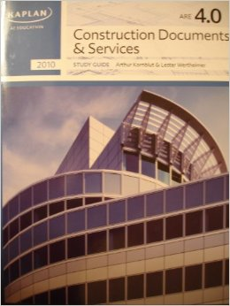 Kaplan CDS - Ultimate List of ARE Study Material for the Architecture Registration Exam
