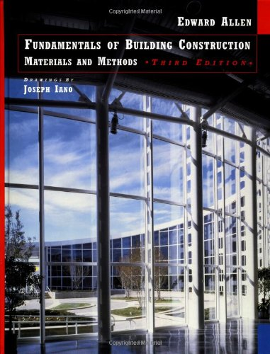 Fundamentals of Building construction - Ultimate List of ARE Study Material for the Architecture Registration Exam