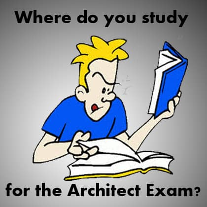 Where Are You Studying For The Architectural Registration