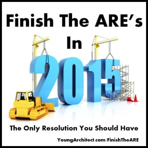 Finish The ARE in 2015