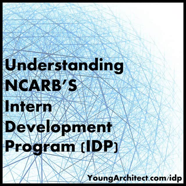 New blog post on NCARB's Intern Development Program