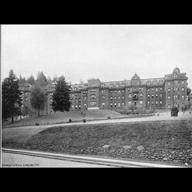 St. Vincent's Hospital picture from 1911