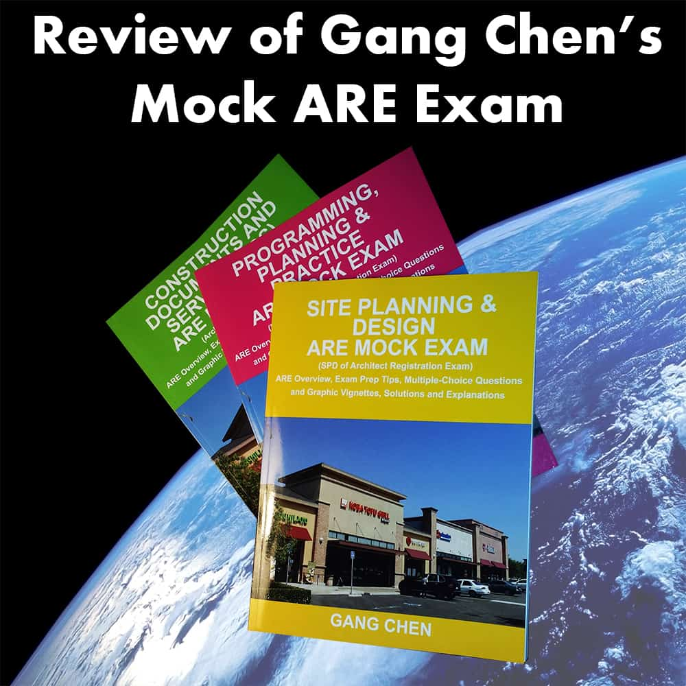 Review of Gang Chen's ARE Mock Exam