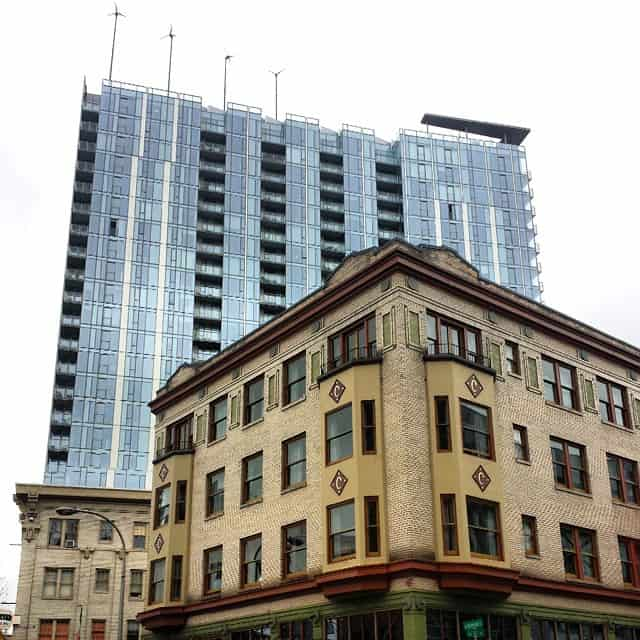Buildings in Portland