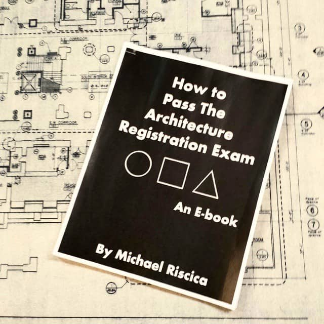 First Look at 'How to pass the architecture registration exam' by Mike Riscica