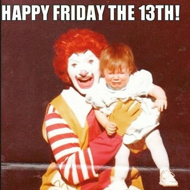Mcdonalds clown making a kid cry