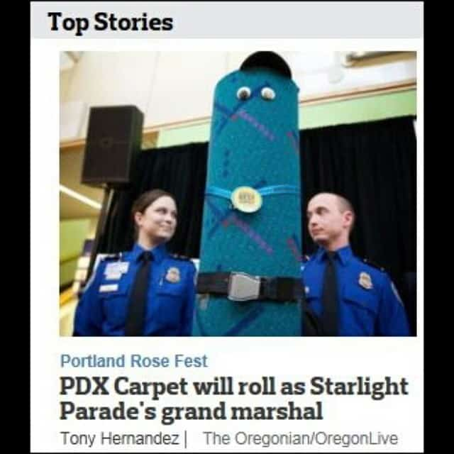 News about the PDX Carpet