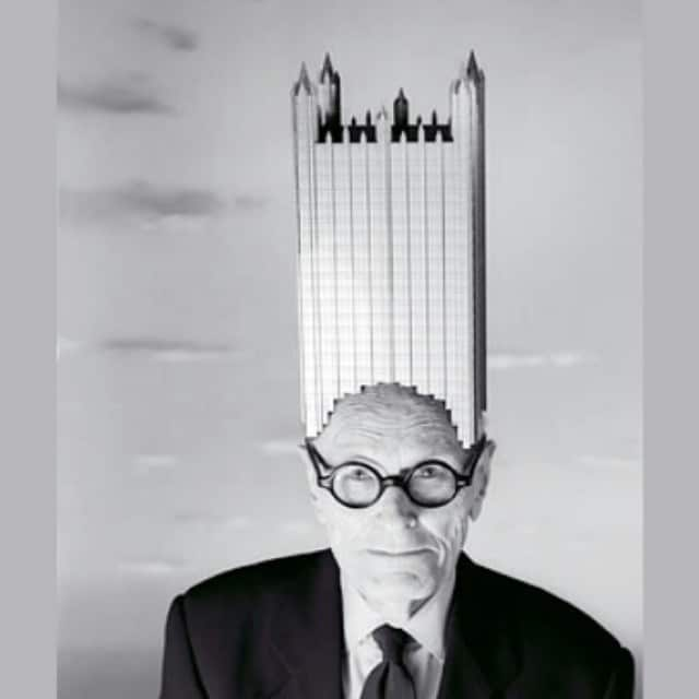 Philip Johnson being weird