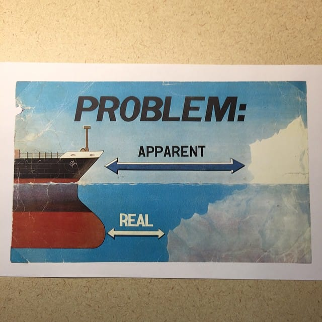 Problem: Real vs. Apparent