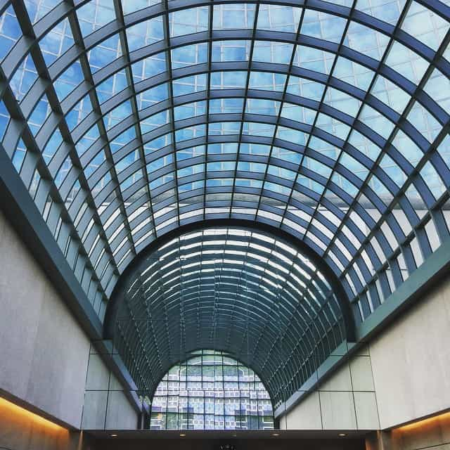 Glass ceiling in Portland