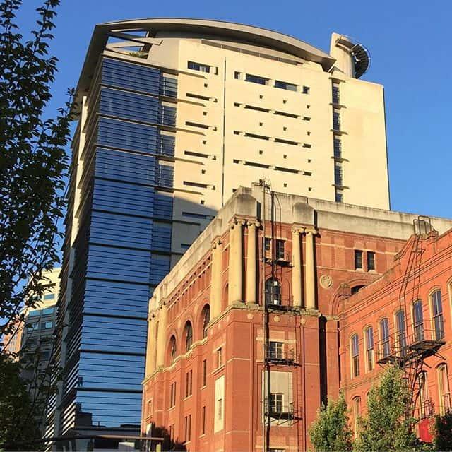 Portland apartment building