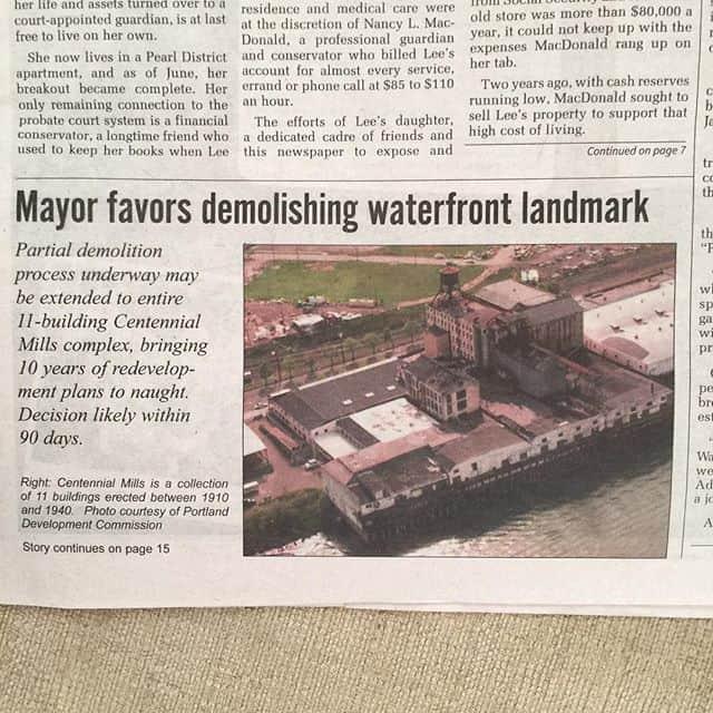 Newspaper from Portland, Oregon