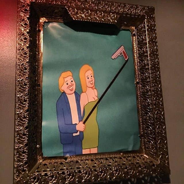 Framed picture of Joan Cornella