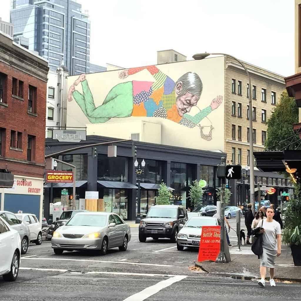 Portland downtown