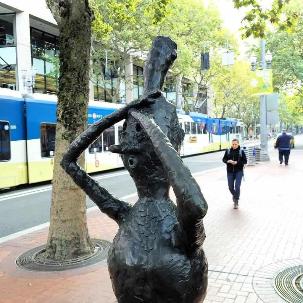 Statue in Portland