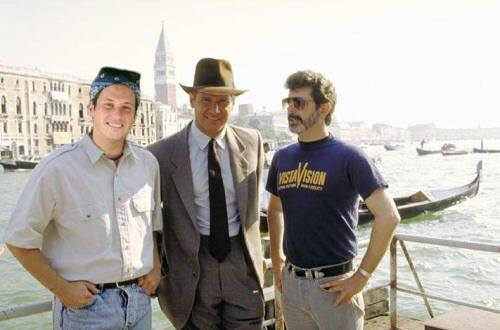 Indiana Jones, George Lukas and Mike Riscica