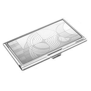 FLW Business card holder