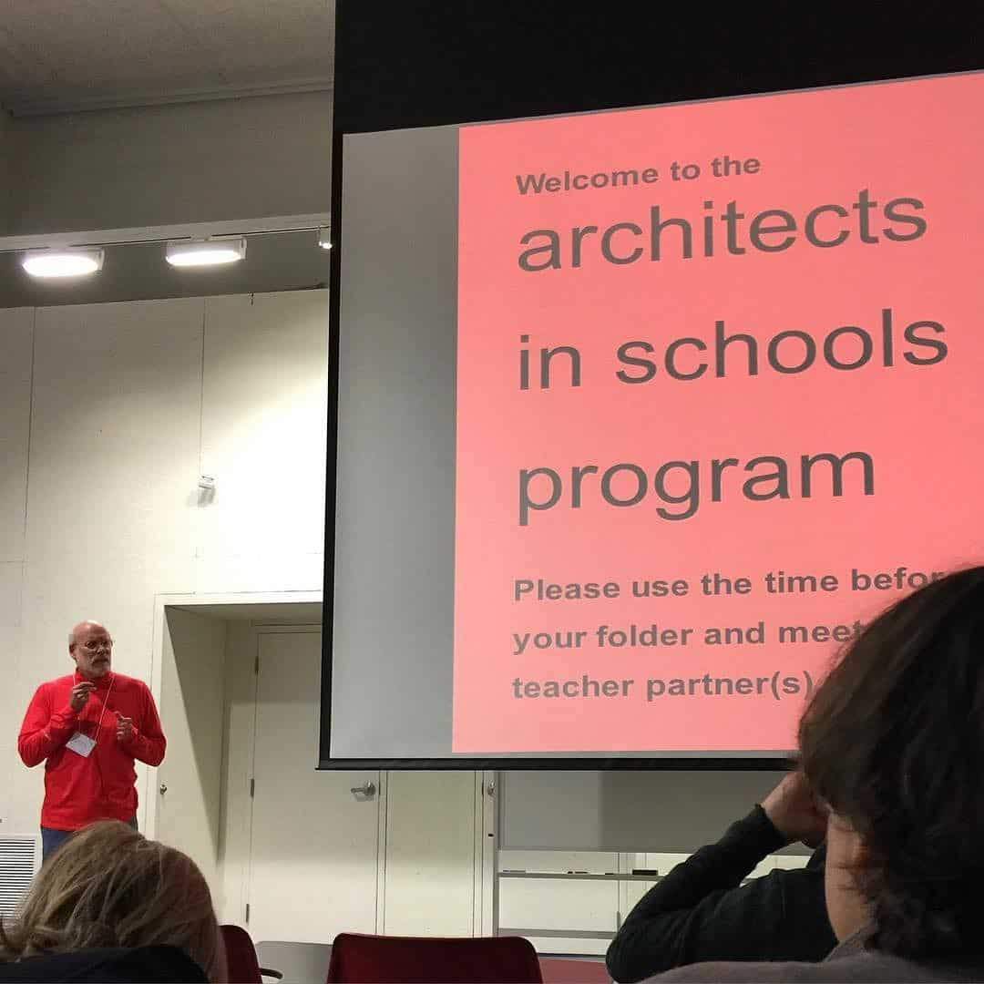 Presentation with architects