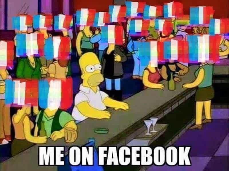 Simpsons meme