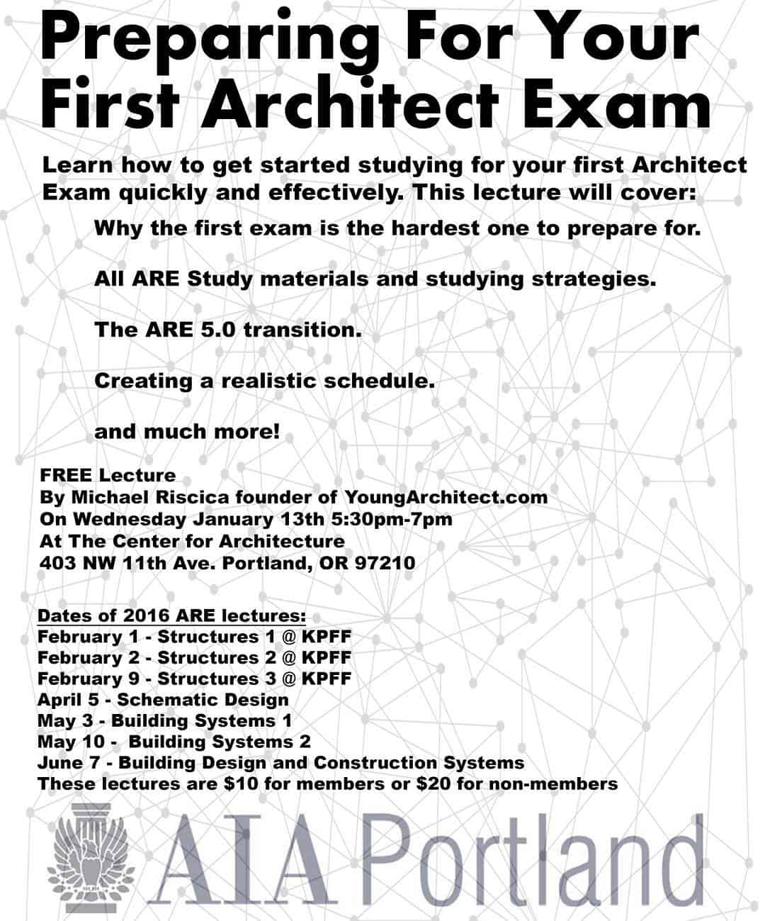 How to prepare for the first architecture exam