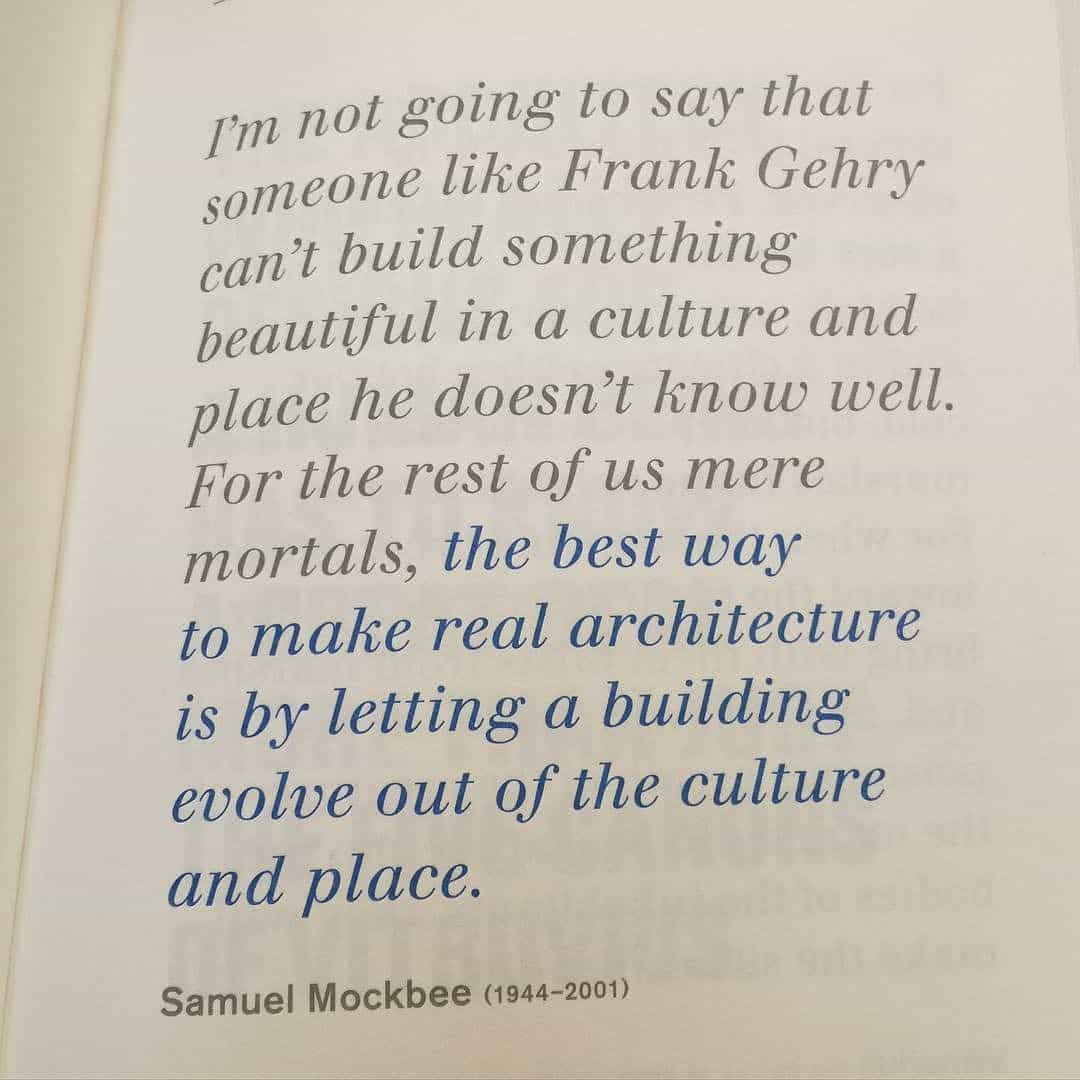 The best way of making Architecture