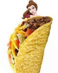 Taco Princess called Belle