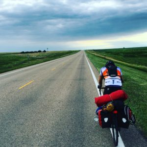 Picture from the end of a 99 mile day. I've been riding with this guy Austin I met a few days ago. We did 117 miles yesterday! We've been killin it!! 💪🏻🚴🌪🏋🏿🍻 #Transam2016 #Biketouring #Bicycletour #CycleTouring #AdventureByBike #RideYourBike #GetOutAndRide #worldbybike #BikeTour #Bikepacking #AdventureCycling #DudeRobot