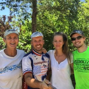 Last night Bob Potter and I stayed at Gillian's house last night in Ordway, Colorado and had the best time. I didn't want to leave this morning. I've been hearing stories about her for years and it was an honor to finally meet her!!!! #Transam2016 #Biketouring #Bicycletour #CycleTouring #AdventureByBike #RideYourBike #GetOutAndRide #worldbybike #BikeTour #bikenation #bikewander #bikesofinstagram #Bikepacking #AdventureCycling #DudeRobot
