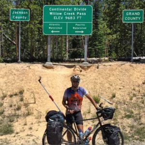 Continental Divide crossing number 2! ✌????? #reverseselfiestick #smugglinggrapes #Transam2016 #Biketouring #Bicycletour #CycleTouring #AdventureByBike #RideYourBike #GetOutAndRide #worldbybike #BikeTour #bikenation #bikewander #bikesofinstagram #Bikepacking #AdventureCycling #DudeRobot