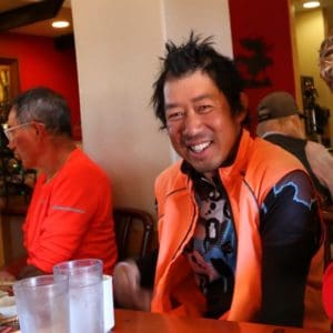 This is my friend Vinh. He's a royal badass! I met him on day 7 of this bike tour (today is day 53) when I was on the Blue Ridge Parkway in Virginia. I didn't see him again until Newton Kansas and since then I been leap frogging with him. Vinh has been cycling since February. He started his trip in San Francisco and rode south to San Diego. Then he took the Southern Tier to St. Augustine Florida. Then rode north to Yorktown and is taking the Transam to the Oregon coast. Then from there he'll ride south back to San Fran to complete his lap around America. #Transam2016 #Biketouring #Bicycletour #CycleTouring #AdventureByBike #RideYourBike #GetOutAndRide #worldbybike #BikeTour #bikenation #bikewander #bikesofinstagram #Bikepacking #AdventureCycling #DudeRobot