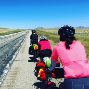 Blasting through Wyoming with the Adventure Cycling group. #Transam2016 #Biketouring #Bicycletour #CycleTouring #AdventureByBike #RideYourBike #GetOutAndRide #worldbybike #BikeTour #bikenation #bikewander #bikesofinstagram #Bikepacking #AdventureCycling #DudeRobot