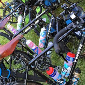 A pile of 2015 Trek 520 touring bikes. #trek520 #Transam2016 #Biketouring #Bicycletour #CycleTouring #AdventureByBike #RideYourBike #GetOutAndRide #worldbybike #BikeTour #bikenation #bikewander #bikesofinstagram #Bikepacking #AdventureCycling #DudeRobot #acatramsam