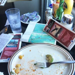 After an hour of of math and plotting, I conclude this breakfast by announcing I will finish this cross country bicycle ride prior to The World Domination Summit! BTW this was the most delicious breakfast I've eaten in over a week. #wds2016 #Transam2016 #transamericatrail #Biketouring #Bicycletour #CycleTouring #AdventureByBike #RideYourBike #GetOutAndRide #worldbybike #BikeTour #bikenation #bikewander #bikesofinstagram #Bikepacking #AdventureCycling #DudeRobot #acatransam