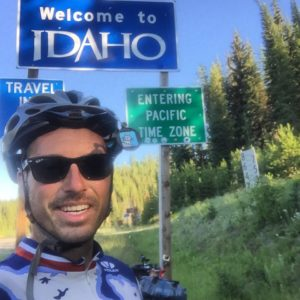 """Idaho.... No, You da hoe!!!! 😹😂😜😎 I skipped Missoula, (because I knew I would get drunk and spend all my money) and rode straight into Idaho. My day wouldn't be complete without hitting a 2000' climb at the end of a 104 miles day. I've climbed 5 passes in the past 4 days. Some old man in Virginia city tried to get me to admit Ennis pass was the hardest climb on my trip. I said """"You have no idea what I've been through. Ennis Pass was a walk in the park!"""" Gonna take it easy tomorrow and just ride 85 miles downhill. Have a great day tomorrow. #Transam2016 #Biketouring #Bicycletour #CycleTouring #AdventureByBike #RideYourBike #GetOutAndRide #worldbybike #BikeTour #bikenation #bikewander #bikesofinstagram #Bikepacking #AdventureCycling #DudeRobot #acatramsam"""