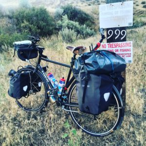 BikeTouring 999!!! ??????#Transam2016 #Biketouring #Bicycletour #CycleTouring #AdventureByBike #RideYourBike #GetOutAndRide #worldbybike #BikeTour #bikenation #bikewander #bikesofinstagram #Bikepacking #AdventureCycling #DudeRobot #acatransam