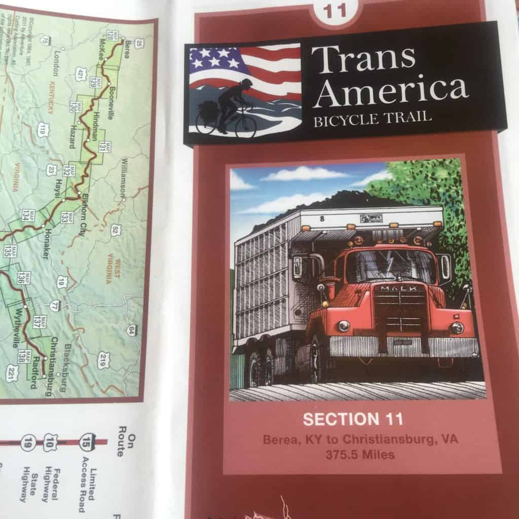 This picture doesn't inspire me to ride my bike into Kentucky. Those coal trucks almost killed me last time I rode the transam. #transamerica2016 #biketouring #kentucky #adventurecycling #adventurecyclingassociation