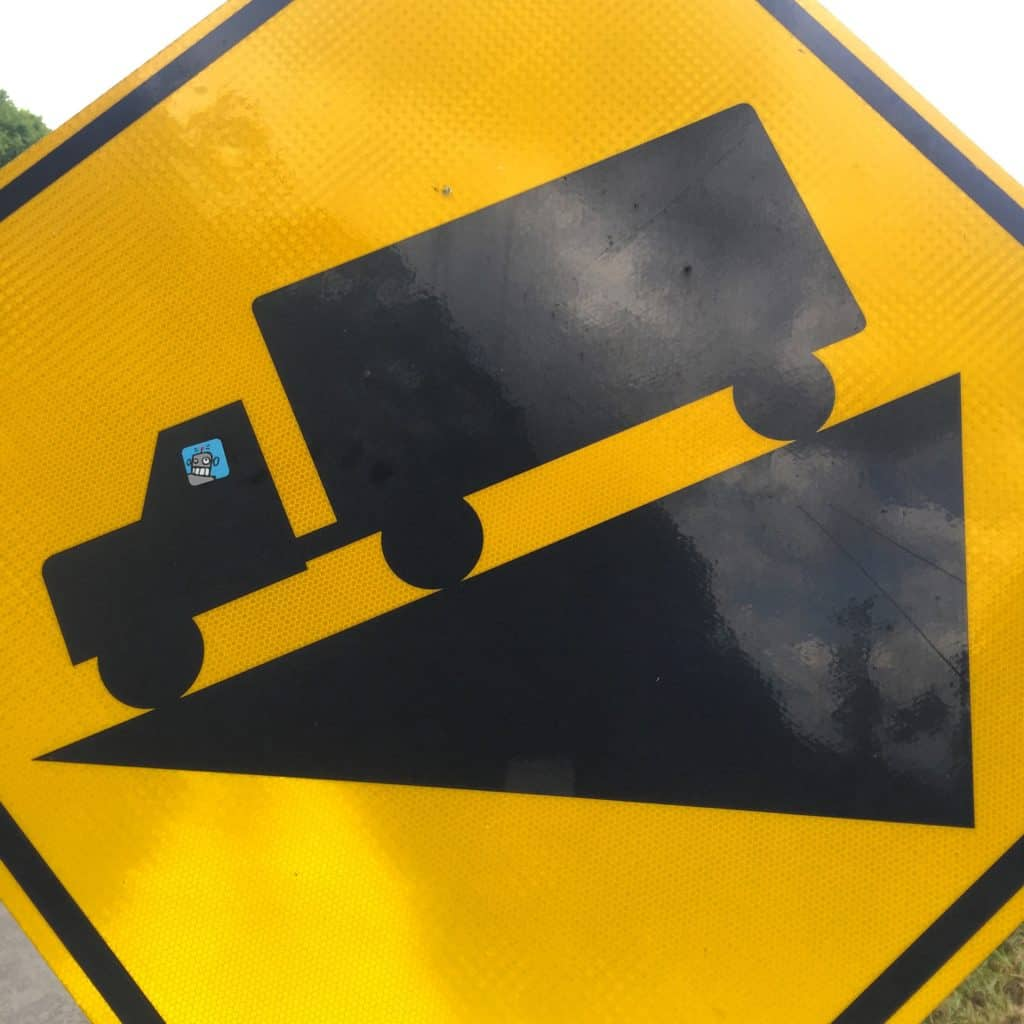 The best sign ever! #duderobot #biketouring #tabr2016 #transamerica2016 #tennesseelife #allyall #transam2016