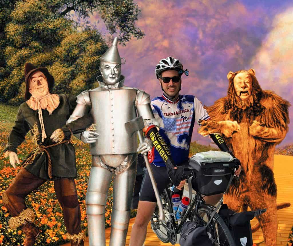 Bicycle touring through Kansas has been crazy! You'll never believe what happened today! #Transam2016 #Biketouring #Bicycletour #CycleTouring #AdventureByBike #RideYourBike #GetOutAndRide #BikeTour #Bikepacking #AdventureCycling #duderobot #offtoseethewizard #comeoutcomeoutwhereveryouare #yellowbrickroad #itsatwisteritsatwister #mikeriscica666