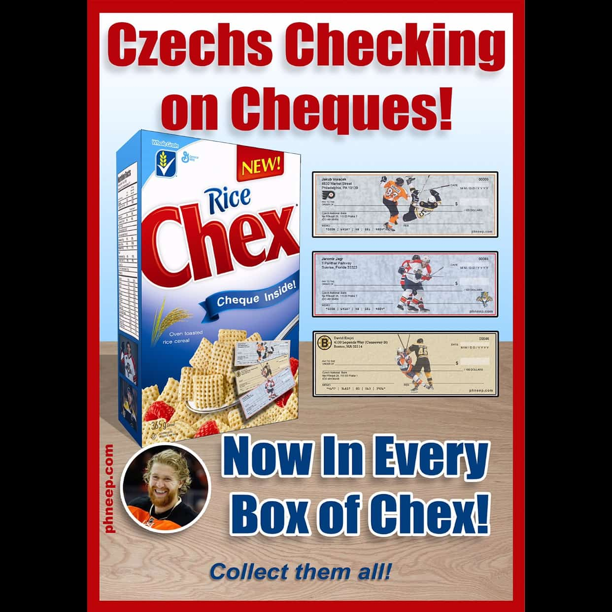 Check this out! #chex #czechs #checking #cheques