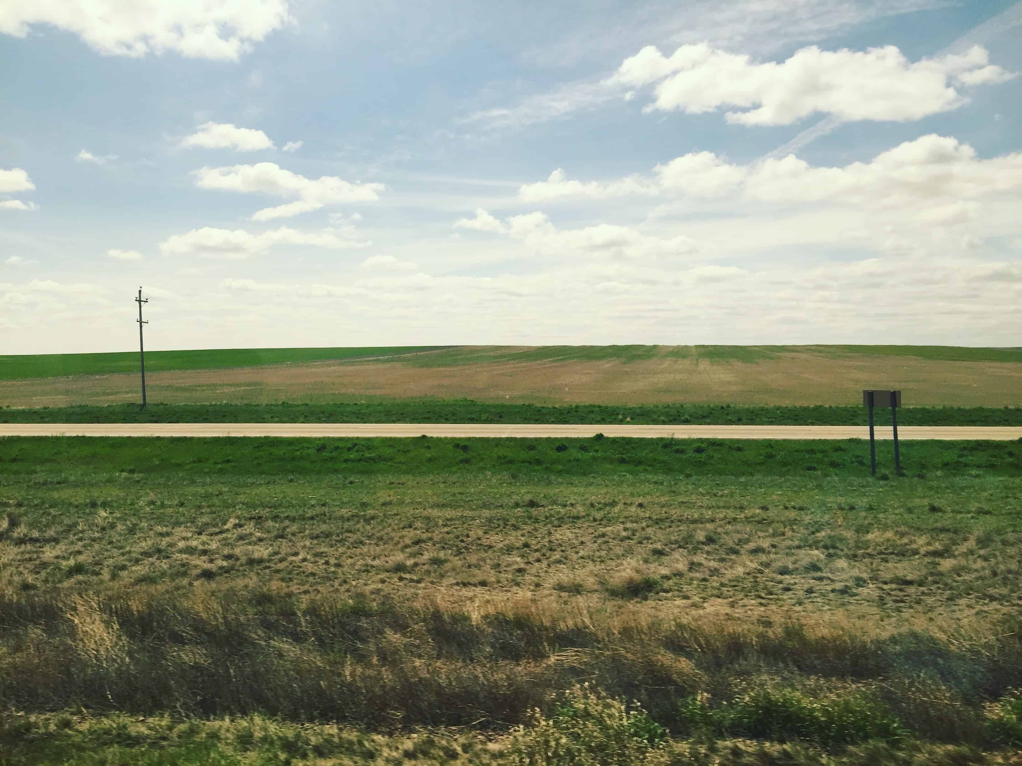 Ahhh Route 2! How are you old friend?!??? In 2007 @punbomber @cvwphoto and I rode 700 miles on Route 2 clear across North Dakota and Montana. It looks exactly like this for all 700 of those miles. #DakotaDementia #greatplains #Route2 #Biketouring #teamnortherntier #PoopinOnThePrarie #bikerideacrossamerica #jokes #architectbeserious