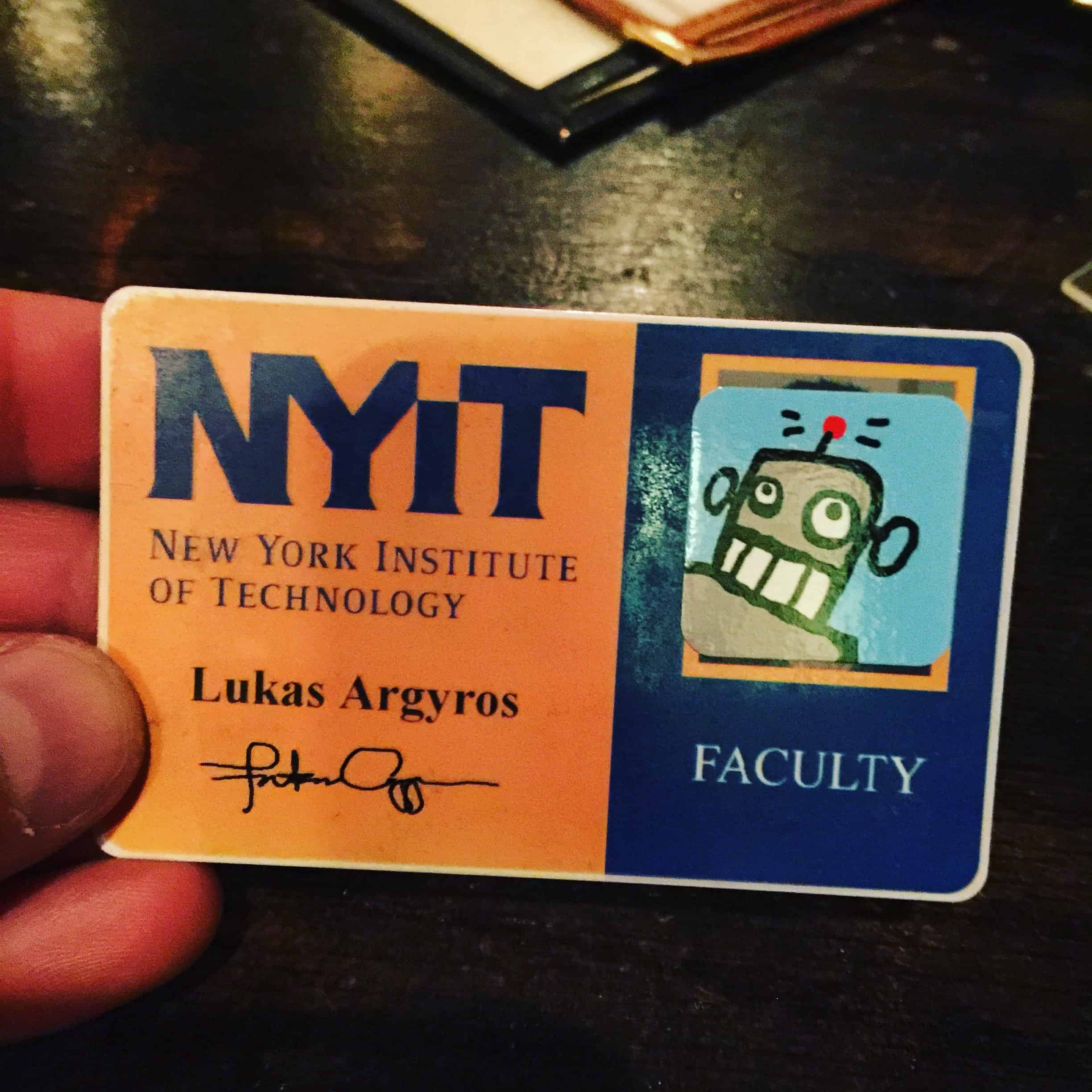 Dude Robot is a Professor of Architecture at NYIT! #duderobot #nyitarchitecture #whatanarchitectdoes