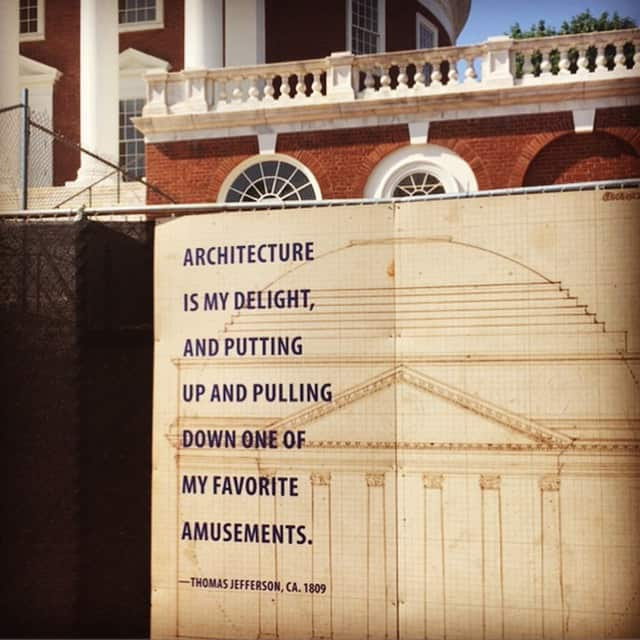 I know right, me too... #thomasjefferson #rotunda #projectmanagement #execution #makingshithappen