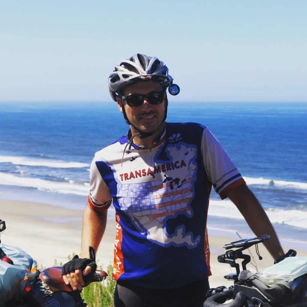 My money shot! #Transam2016 #Biketouring #Bicycletour #CycleTouring #AdventureByBike #RideYourBike #GetOutAndRide #worldbybike #BikeTour #bikenation #bikewander #bikesofinstagram #Bikepacking #AdventureCycling #DudeRobot #acatransam #trek520