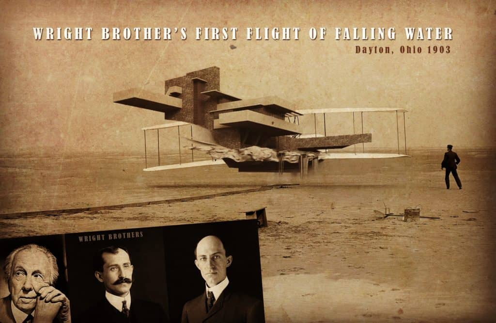 Frank Lloyd Wright Brothers?!?? Ok I know, it's lame.