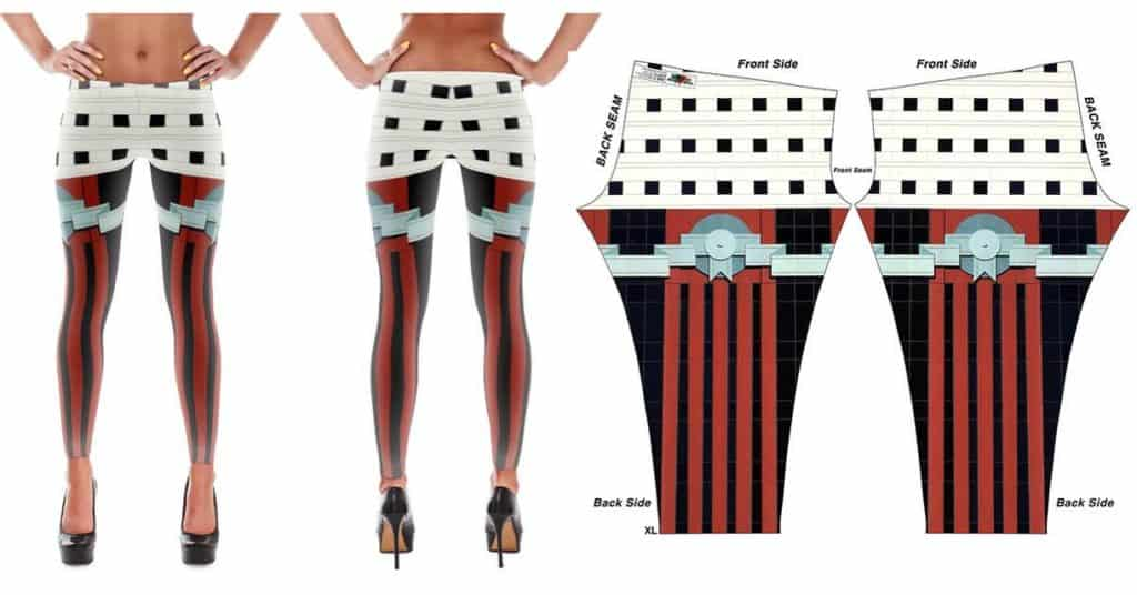 Mama, I designed you a post modern Portland Building themed pair of yoga pants! Available EXCLUSIVELY through YoungArchitectGear.com #architecture #yogapants #postmodern #theportlandbuilding #portlandbuilding #michaelgraves #portlandia #whatanarchitectdoes #portlandarchitecture
