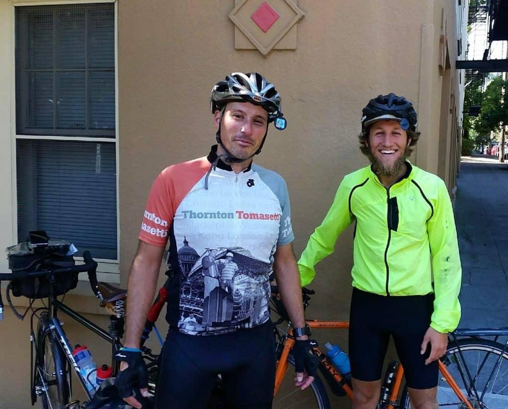 Team Pic! #Transam2016 #Biketouring #Bicycletour #CycleTouring #AdventureByBike #RideYourBike #GetOutAndRide #worldbybike #BikeTour #bikenation #bikewander #bikesofinstagram #Bikepacking #AdventureCycling #DudeRobot #acatransam #trek520