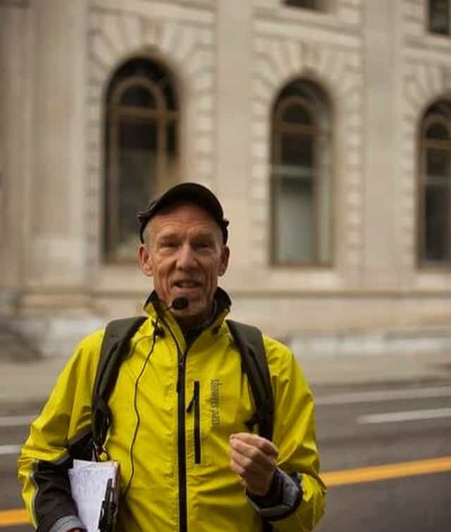 Eric Wheeler, Portland's most humble architectural historian is now on Instagram at @positivelyportlandwalkingtours