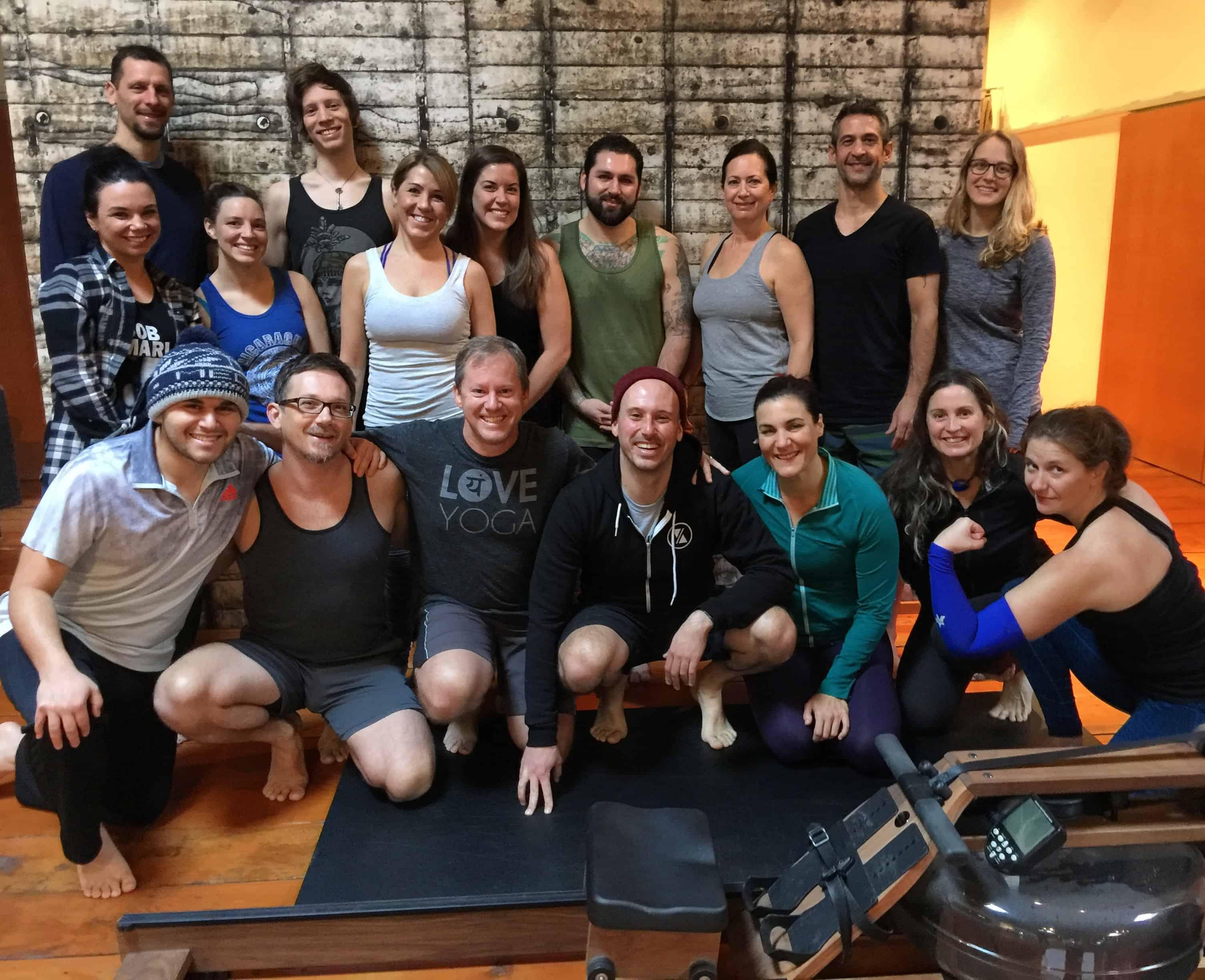 Today was the final for my 200 hour Yoga Teacher Training. I taught a class to my peeps! #jillknouseyoga #yogateachertraining