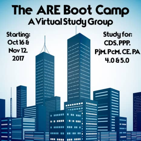 Join The ARE Study Group